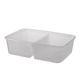 650mL Compartment Takeaway Container Bases