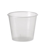 Disposable 80mL Clear Sampling Cup / Dessert Cup