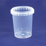 520mL Round Tamper Evident Container Base