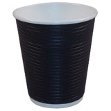 12oz Triple Walled Corrugated Paper Cup Black