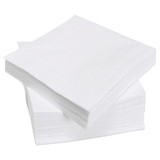 Budget 1 Ply White Luncheon Napkins