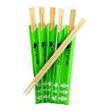 Disposable Bamboo Chopsticks Square Top