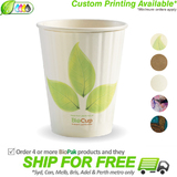 BioPak Double Wall 12oz Paper BioCup
