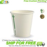 BioPak Green Line 6oz Single Wall BioCup