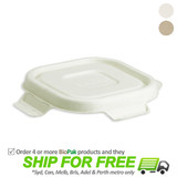 BioPak Bio Lid For 280-630mL Takeaway Containers