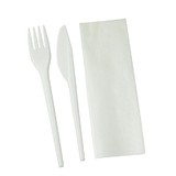 Cutlery Combo Pack- Knife/Fork/Napkin Set