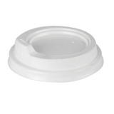 12/16oz Sipper Lids For Paper Coffee Cups